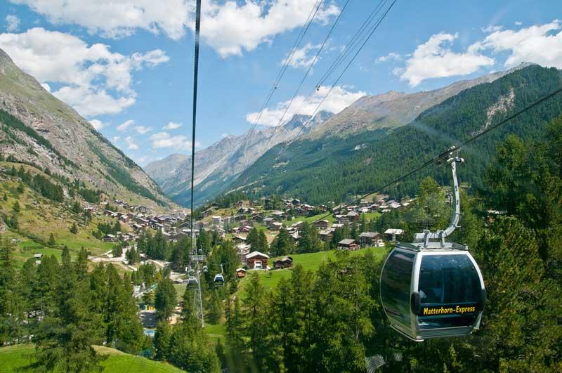 Matterhorn Glacier Express cableway