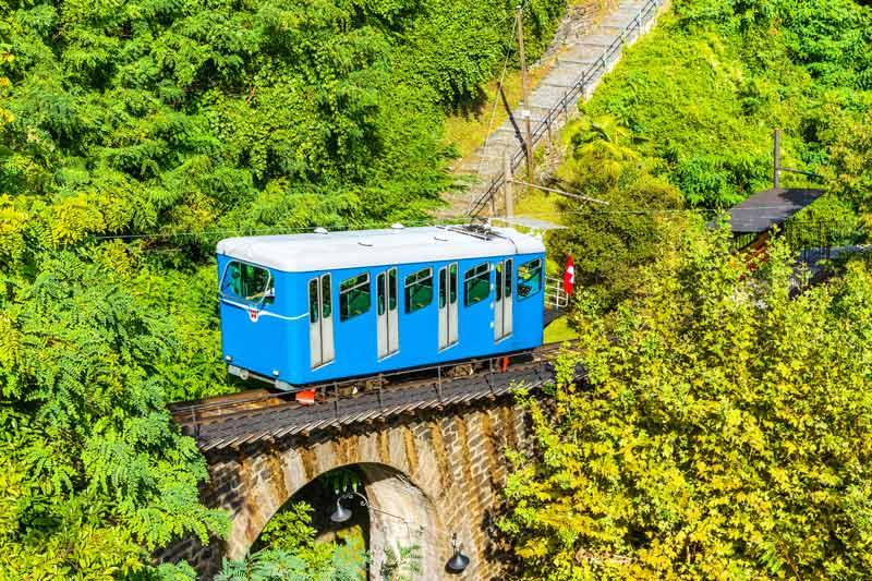 Locarno to Madonna del Sasso funicular