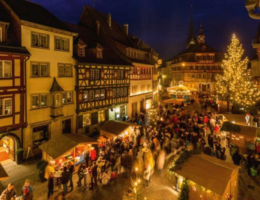 Christmas market at Stein am Rhein