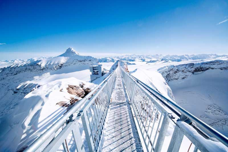 Peak Walk by Tissot at Glacier 3000