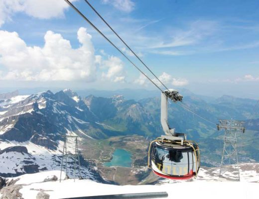 Titlis Rotair cable car
