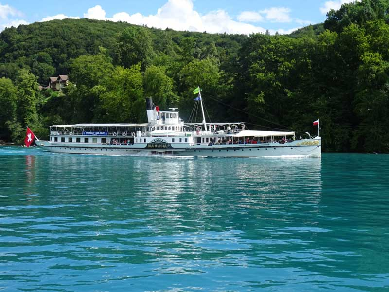 Cruise on Lake Thun, Switzerland