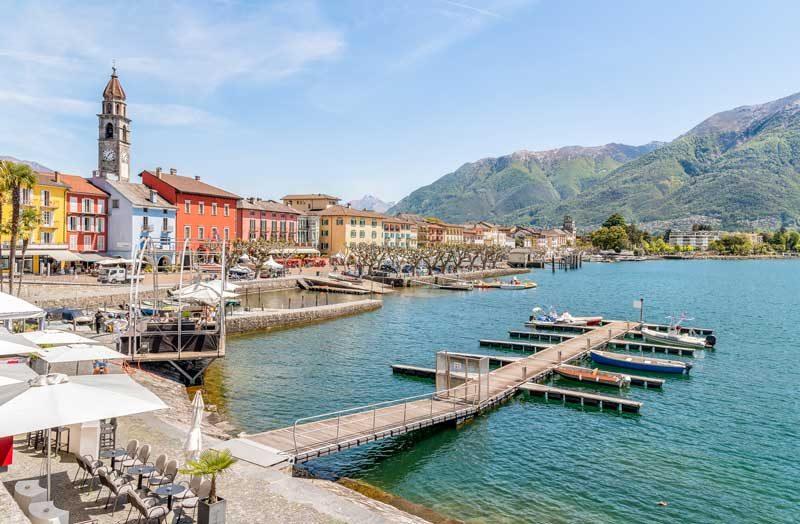 Ascona, Lake Maggiore, Switzerland