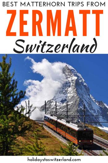 Best Matterhorn day trips from Zermatt