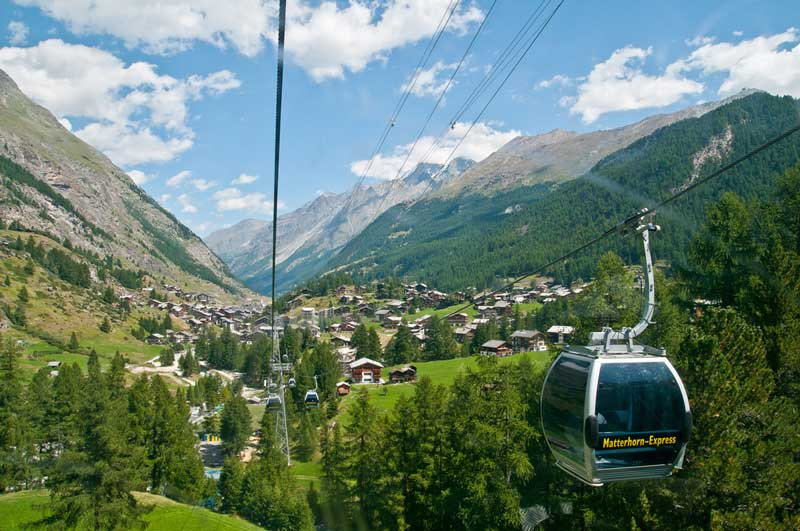 Matterhorn Glacier Express cable car
