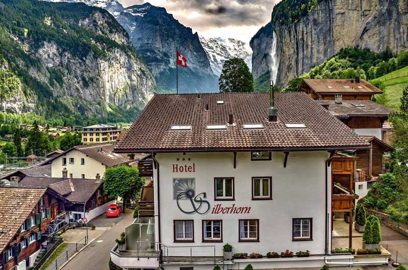 Hotel Silberhorn, Lauterbrunnen
