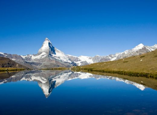 Matterhorn reflection in Riffelsee