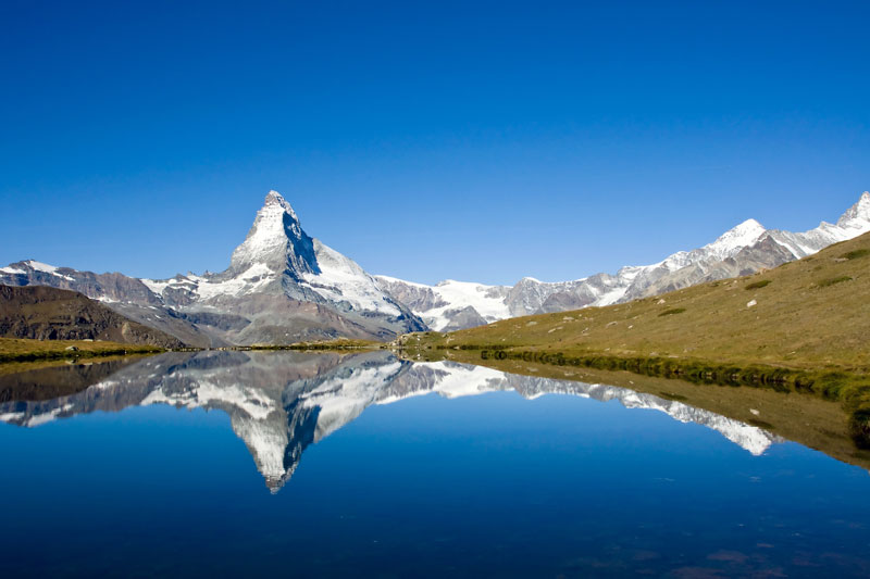 Matterhorn reflection in Riffelsee