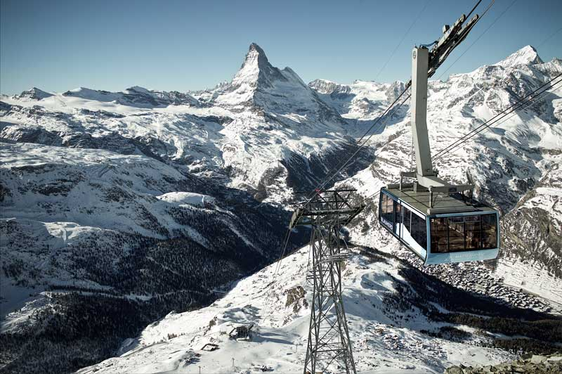 Rothorn cableway