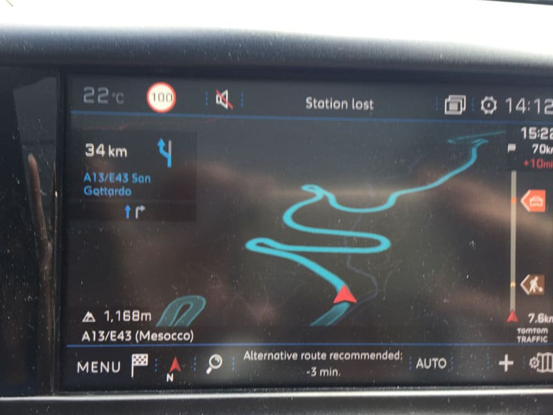 In-car navigation system