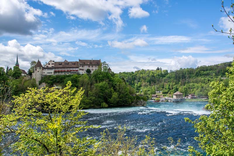 Laufen Castle, Rhine Falls, Switzerland