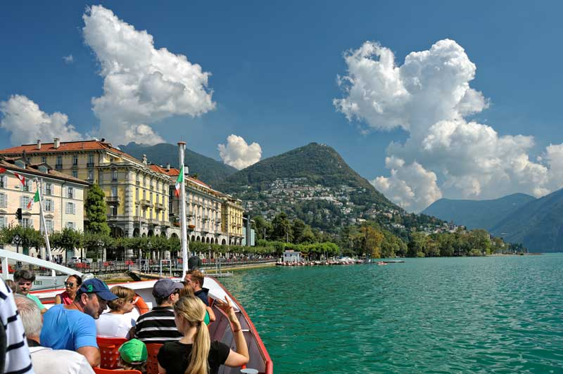 Cruise on Lake Lugano