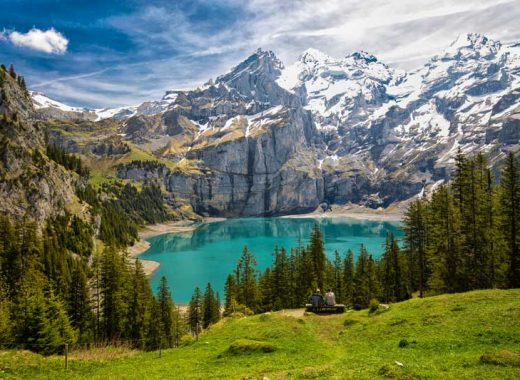 Lake Oeschinensee Switzerland