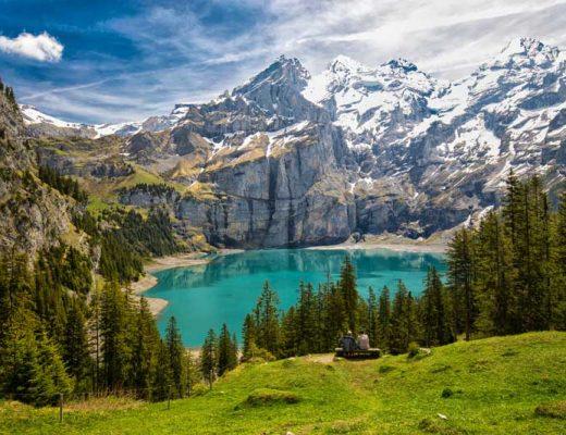 Lake Oeschinensee Switzerland