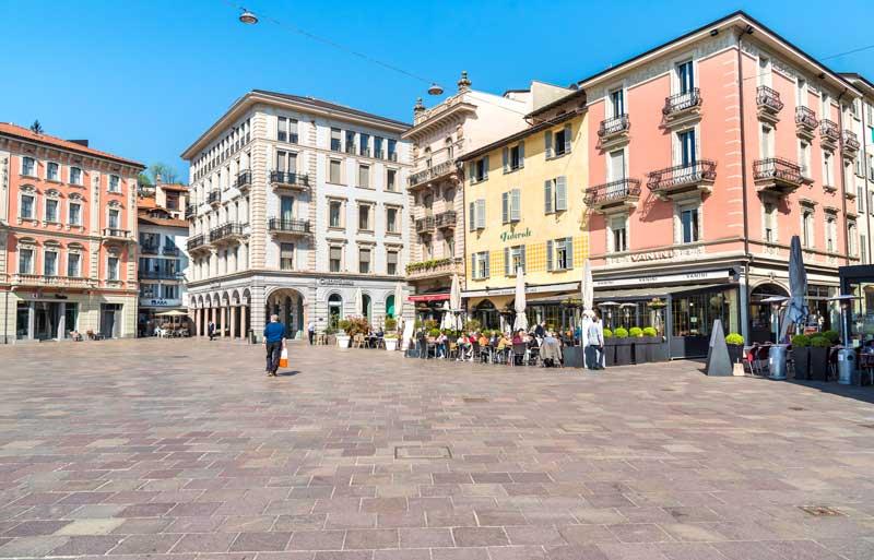 Piazza Riforma, Lugano