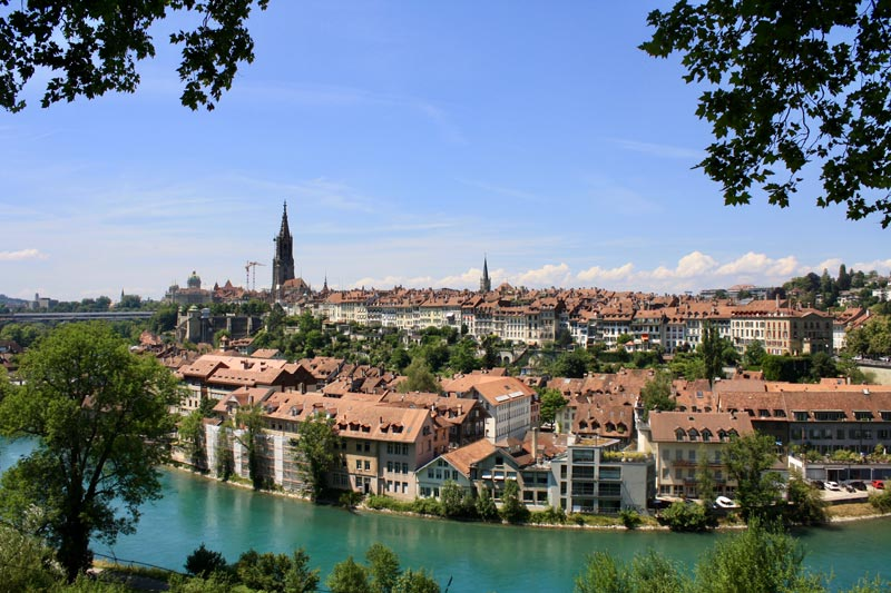 Bern city view