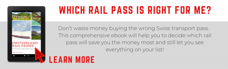 Switzerland Rail Passes ebook