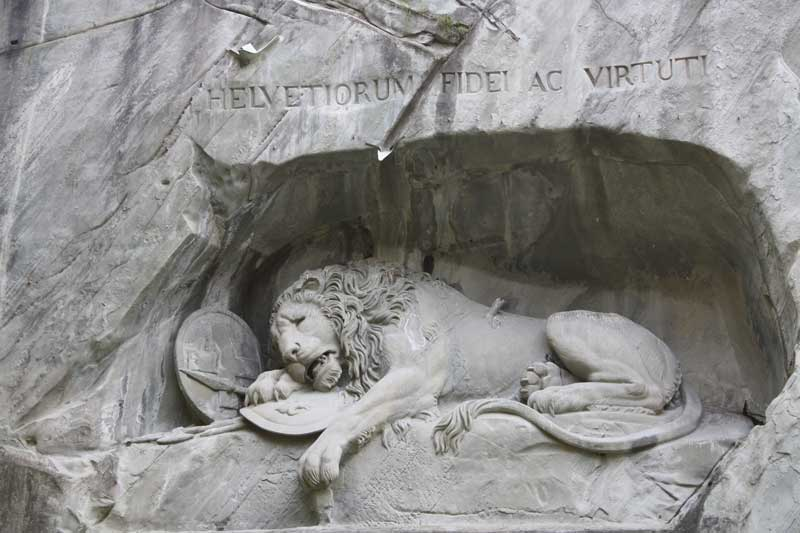 Dying Lion monument, Lucerne