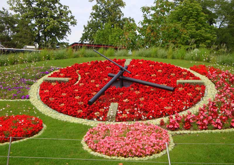Flower Clock, Geneva
