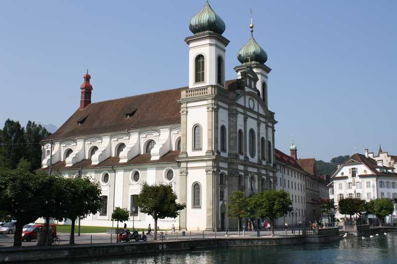 Jesuit Church Lucerne
