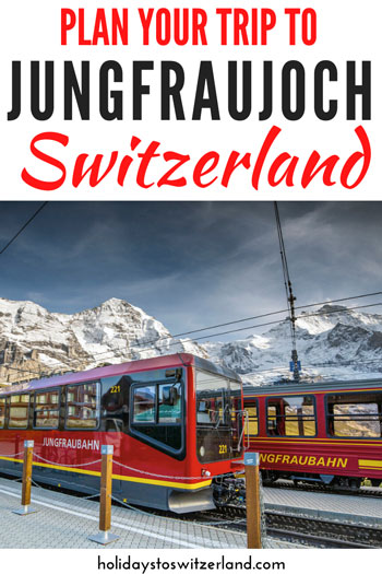 Plan your trip to Jungfraujoch Top of Europe