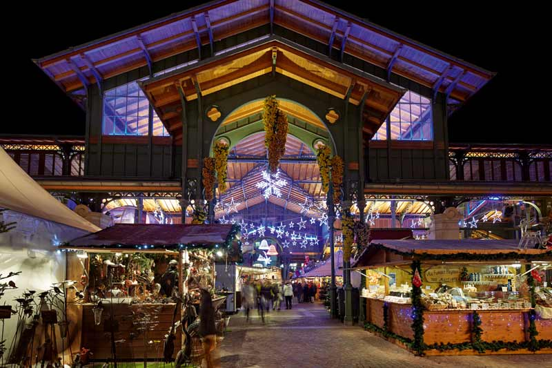 Montreux Switzerland Christmas market