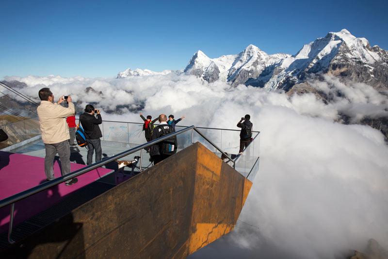 Skyline Observation Deck at Birg.