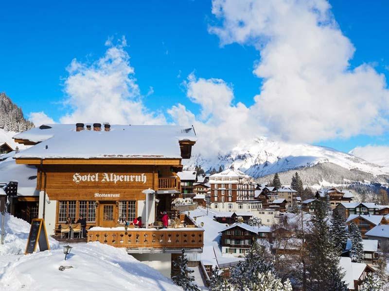 Hotel Alpenruh in Murren