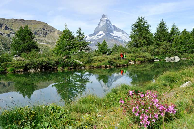 Lake Grindjisee near Zermatt