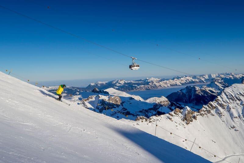 Murren-Schilthorn, Jungfrau Ski region