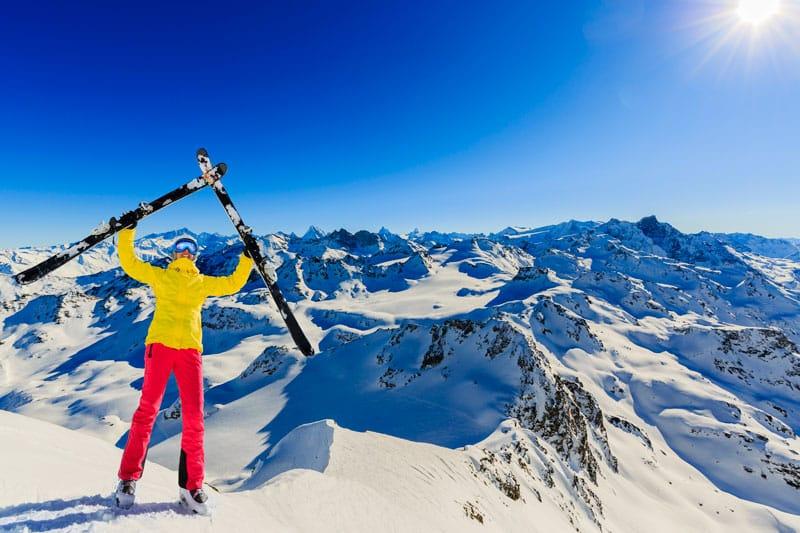 Skiing in Switzerland