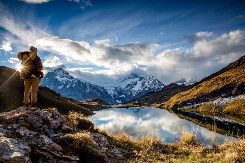 Grindelwald First landscape