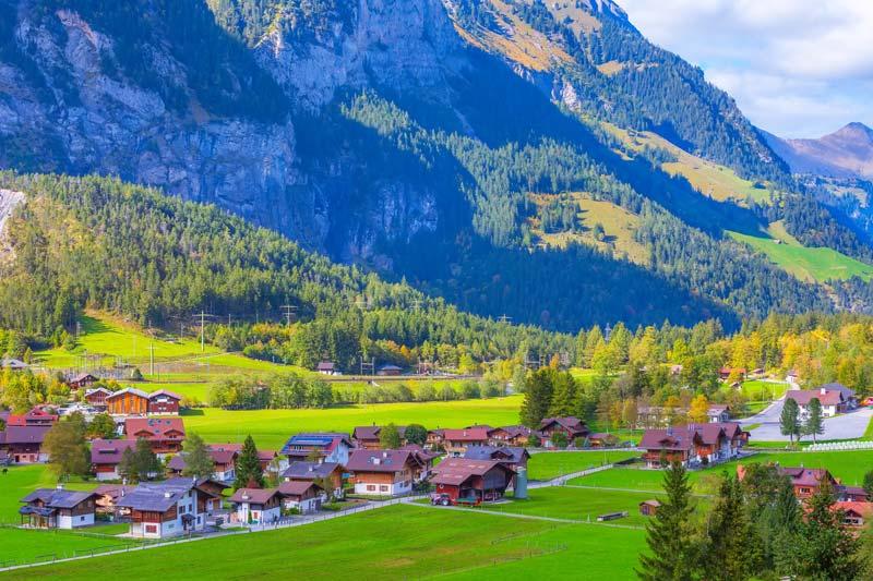 Kandersteg, Berner Oberland, Switzerland