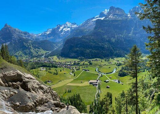 View of Kandersteg, Switzerland