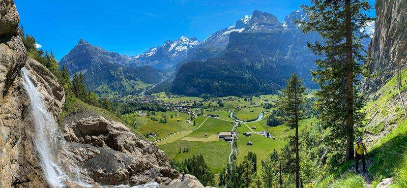 View of Kandersteg, Switzerland
