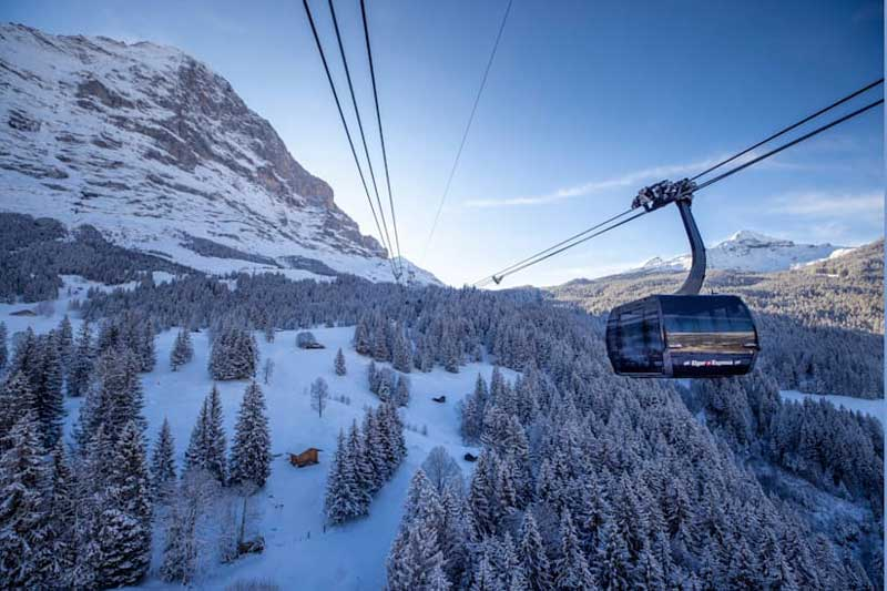 Eiger Express cableway
