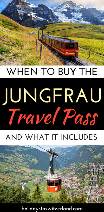 When to buy the Jungfrau Travel Pass