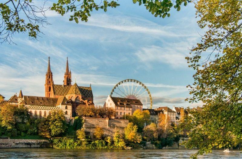 Basel Switzerland in autumn