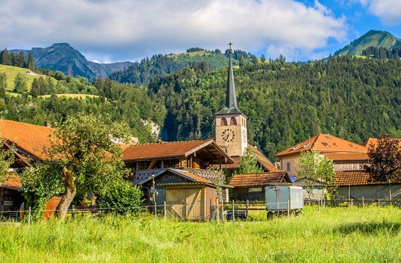 Grandvillard Switzerland