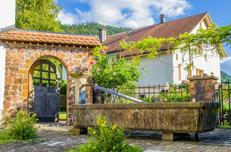 Grandvillard Fribourg Switzerland