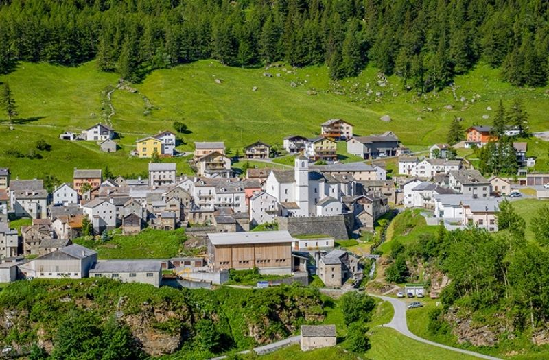 Simplon Dorf Switzerland