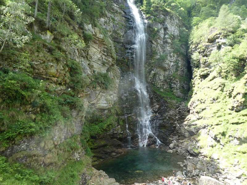 Frodo Falls, Sonogno, Switzerland