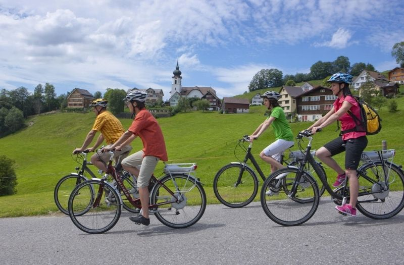 Cycling in Appenzellerland