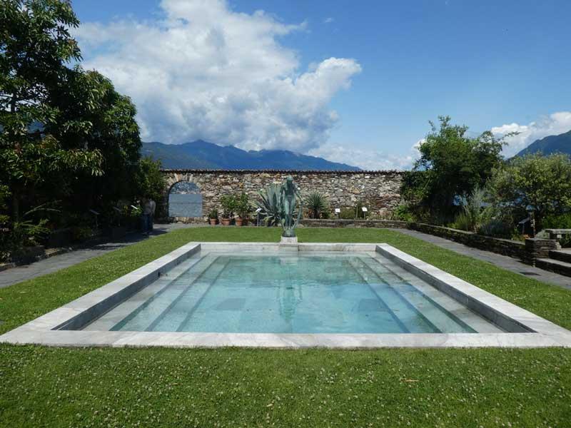 Roman bath at Isole di Brissago