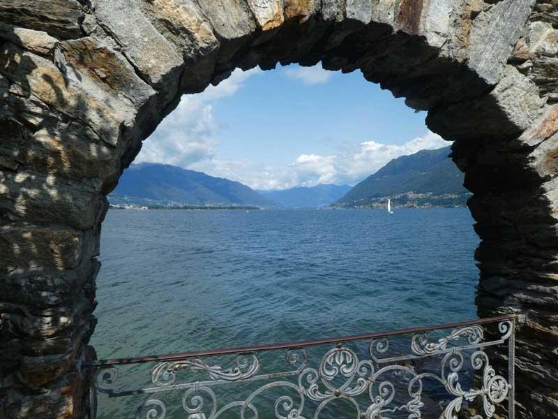 A pretty view from Isole di Brissago