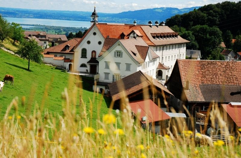 View from Walzenhausen to Lake Constance