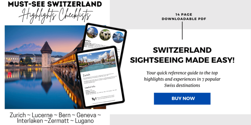 Must-See Highlights of Switzerland