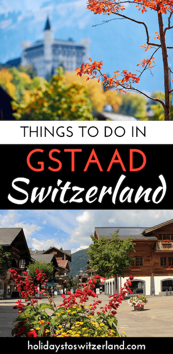 Things to do in Gstaad, Switzerland