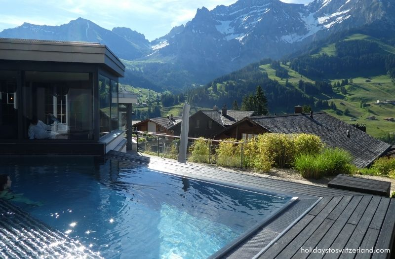 The Cambrian hotel's outdoor pool