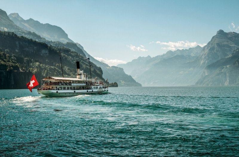 Lake Lucerne paddlesteamer